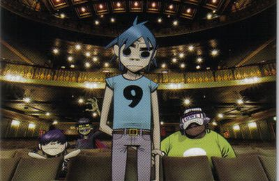 GORILLAZ : Demon Days Live (DVD)