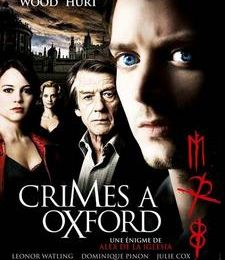 Crimes à Oxford