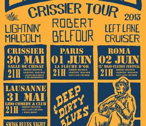 Interview de Left Lane Cruiser par John the Revelator (Blues Rules 2013, Flèche d'Or - Paris)
