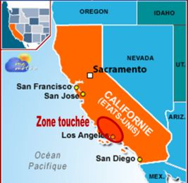 [Etats-Unis] Sécheresse, vent : violents incendies (Californie)