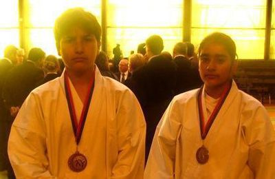 RESULTATS KARATE 2005-2006 N°2 CHAMPIONNAT DE PARIS minime-cadet