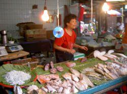 Petit marché typique de Taipei