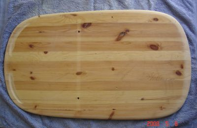 Mon premier paipo en bois / my first wood paipo