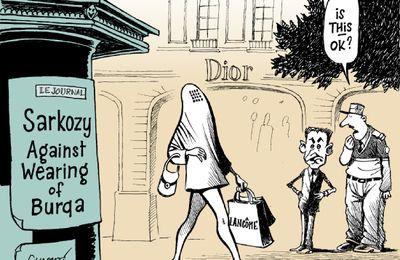 Burqa, niqab et... liberté
