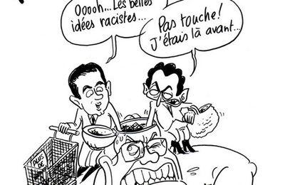 Ca y est ! L'UMP de Sarkozy et le FN parlent d'une seule voix !