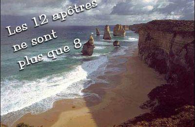 Les 12 apôtres en Australie