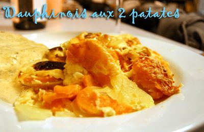 Dauphinois aux 2 patates