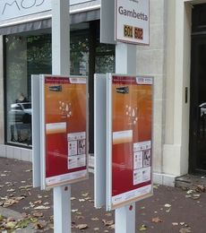 Totems VEOLIA au Raincy