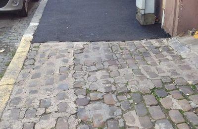 Trottoirs et chaussées du Raincy : quel gaspillage !