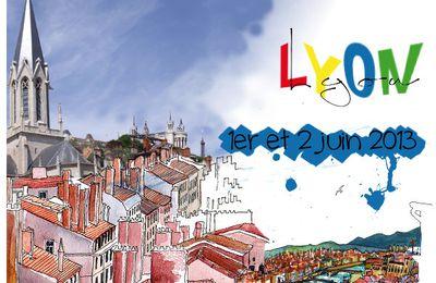 Ce week-end à Lyon...