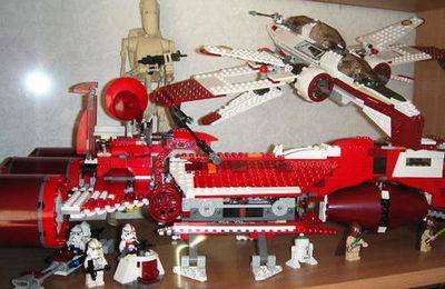 Republic Cruiser Lego Star Wars
