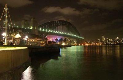 Le soir au fond de l'Australie