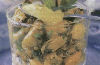 Timbales de Moules au Curry