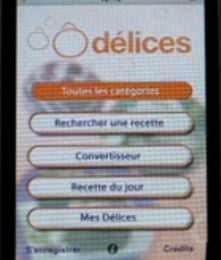 Application Odélices sur i-truc