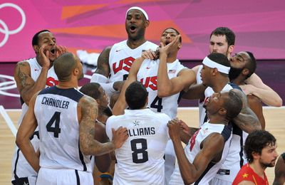 JO 2012 - FINALE MESSIEURS : TEAM USA OLYMPIC CHAMPION