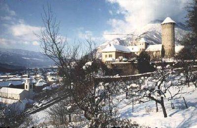 le chateau de Faverges