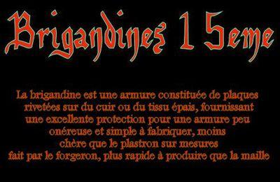 brigandines 15eme