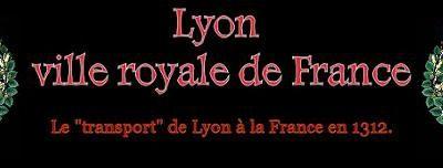 Lyon au 14eme siecle