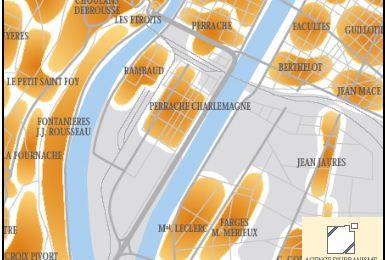 Lyon se réconcilie avec son fleuve