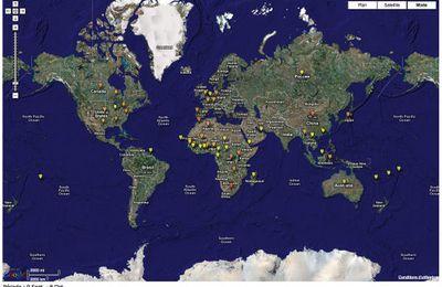 Google Earth et la santé : des informations disponibles et actualisées en permanence.