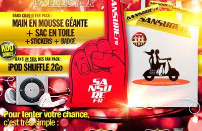 CONCOURS TERMINÉ / Gagnez votre Fan Pack Collector #SANSURE8ANS