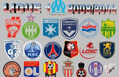 38 JOURNEE L1 2008/2009 : OM 4/0 RENNES RESULTATS/RESUME/REACTIONS