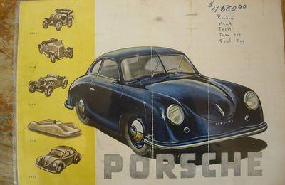 publicité PORSCHE  1950 USA