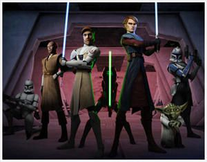 Star Wars : The Clone Wars bientôt sur W9