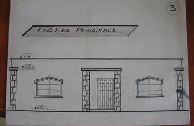 Plans de la Salle en Construction au village de Tazadoute