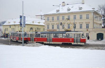 Prague (8 /fin) : Le tramway