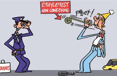ETHYLOTEST OBLIGATOIRE DANS LES VEHICULES