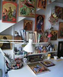 Visite à une artiste