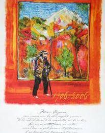 Exposition de peinture à Lourmarin, le 30 septembre, Jean François SAVORNIN