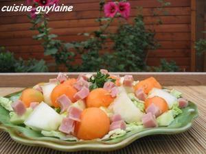 salade de chou au melon