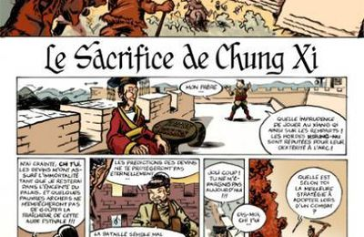 Le sacrifice de Chung Xi (version définitive)