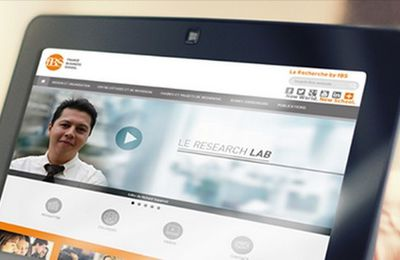Le nouveau site internet du Research Lab de France Business School