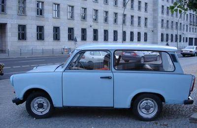 Berlin, l'indémodable voiture, la Trabant