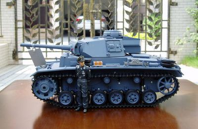 GERMANY PANZER  III  HENGLONG  1/16 RC