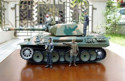 GERMANY  PANTHER  HENGLONG  RC  1/16
