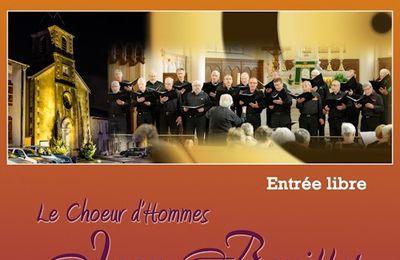 Concert du choeur d'hommes Jean Bouillet à Houdemont le 17 février 2015
