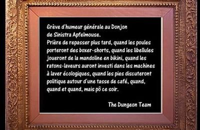 Dungeon strike....