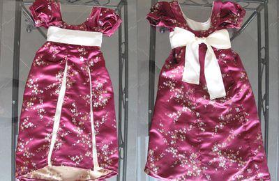 Instant couture : robe de princesse pour crevette