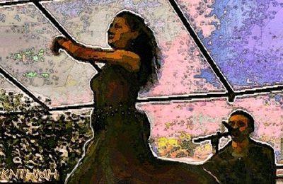 Vitrail - danseuse