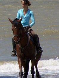 Après Martine à la plage, voilà Ok Carole à la plage !