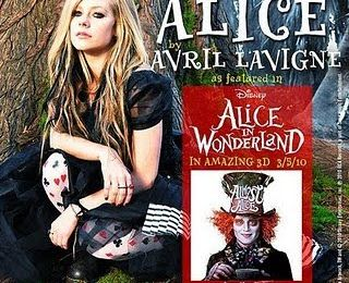 Avril Lavigne is Alice !