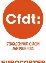 CFDT Eurocopter : déclaration au CCE du 26 novembre : réorganisation d'EADS et suppressions d'emplois