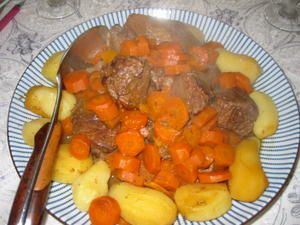 Boeuf braisé à l'orange