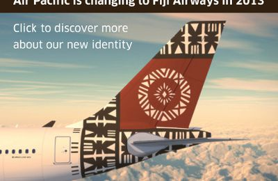 FIJI AIRWAYS remplace AIR PACIFIC : bula !