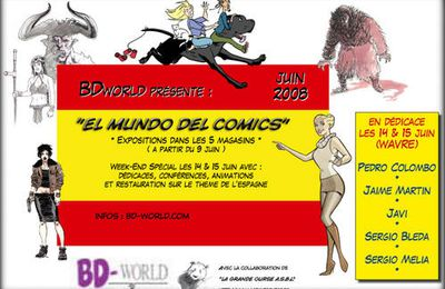 EVENT BD-WORLD, L'INEDIT & AUTRES...