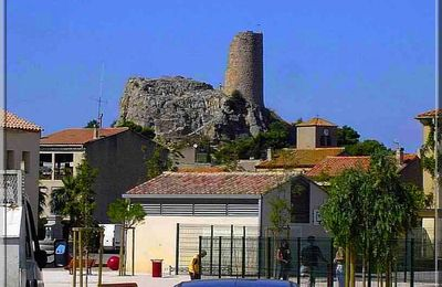 France - Castle of GRUISSAN